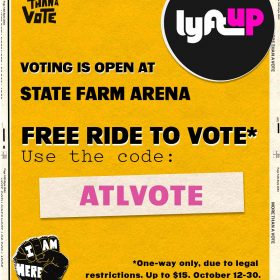 _ATLVOTE_ (Lyft Partnership) - More Than A Vote