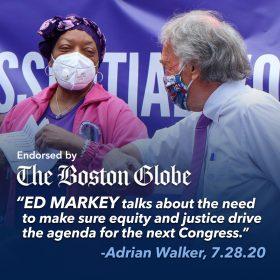 _The Boston Globe #1_ - United For MA PAC (1080x1080 Endorsement for Ed Markey)